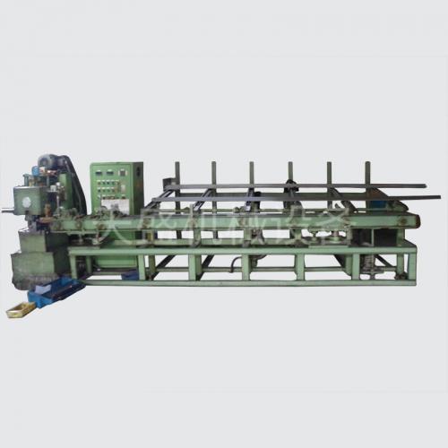 Valve material cutting machine