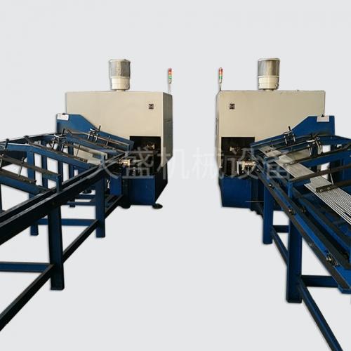 Valve material grinding wheel cutting machine